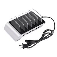 10.2A Multi Usb Charger Port Station,Multi-Device Hub Charging Dock for iPhone, iPad, Galaxy, Tablets