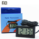 2018 Best Selling Mini LCD Digital Thermometer Hygrometer for Fish Tank Water Marine Aquarium LCD Digital Thermometer
