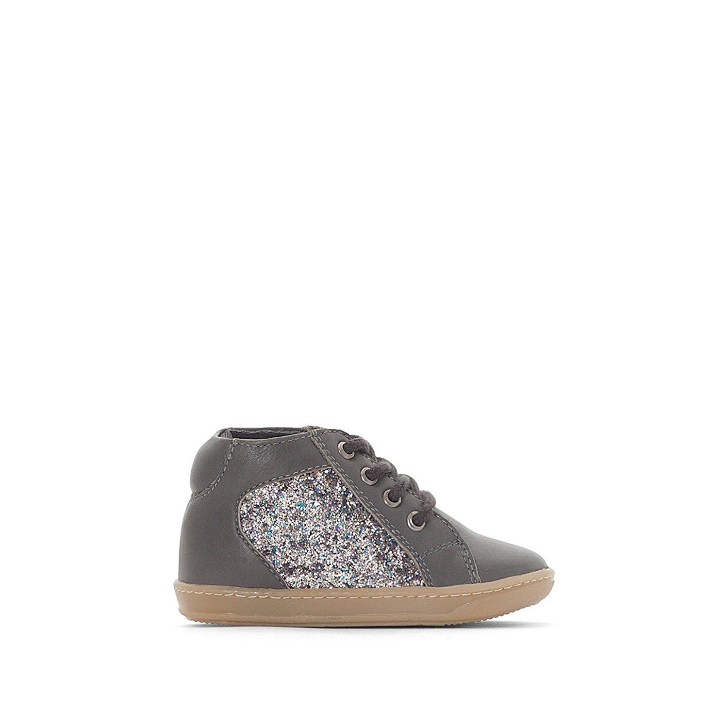 6b37993f5b08 Get Quotations · La Redoute Collections Big Girls Glitter Trainers, 19-25