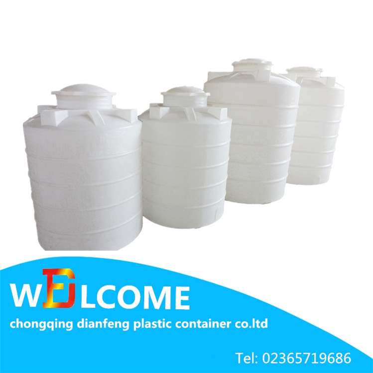 New Products 2016 Plastic Containers Dubai Water Tower 400L