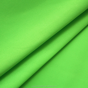 100% Polyester Knitting Safety Vest Fabric Fluorescent Plain Fabric Textile Cloth