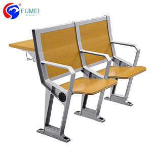 School student classroom furniture college study table and chair