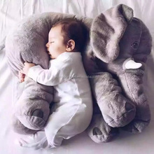 Multi Size Plush Elephant Children Toy with Big Ear, Soft Elephant Children Pillow