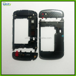 Spare parts for BlackBerry Q10 middle frame cover with upper cover