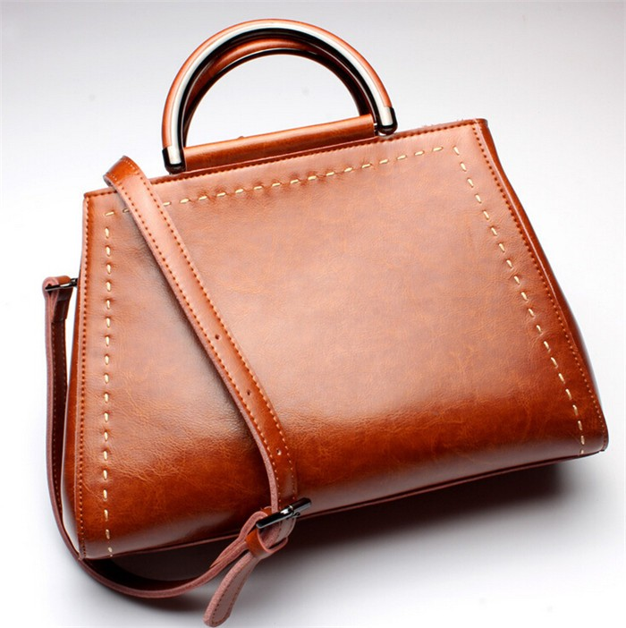 7b5613f6b8 China Genuine Leather Handbag High Quality