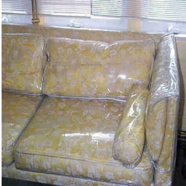 Sofa Covers Plastic Plastic Slipcovers For Sofas And Vinyl  : Plastic fitted sofa cover for protection from thesofa.droogkast.com size 600 x 599 jpeg 52kB