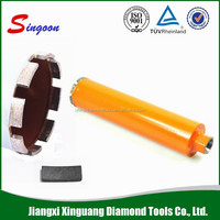Diamond hole saw core drill bit 5 Inch Turbo Cup concrete stone granite