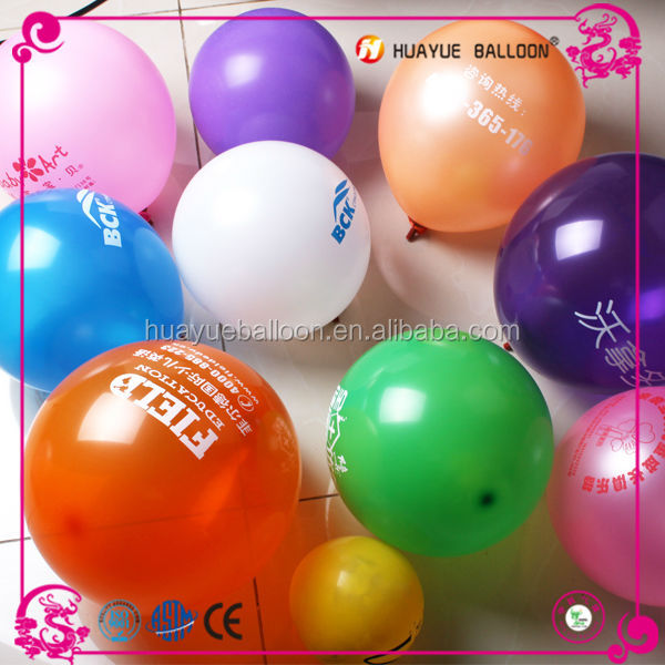Different color and size balloons, 3 inch 5 inch 7inch 9 inch 10 inch 12 inch latex balloons for sale