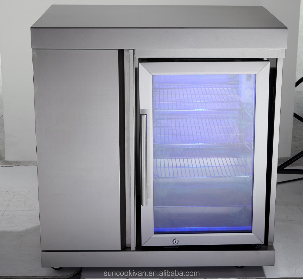 Stainless Steel Outdoor Fridge Cabinet,With Single Fridge   Buy Fridge  Cabinet,Fridge Module,Outdoor Fridge Product On Alibaba.com