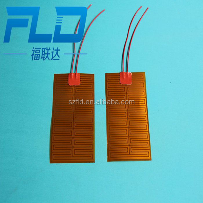 Customize 110v 115v 120v 220v 230v 240v 380v 400v Thin Flexible Heating Element film any size and voltage
