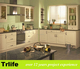 Trlife EP-15 pvc rta kitchen cabinet/fancy kitchen cabinet door handles/kitchen cabinet light