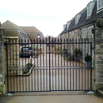 Simple Iron Main Gate Design Wrought Iron Gate Models ...