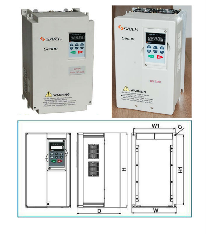 S2800 variable frequency drives VFD/VSD inverter vector control