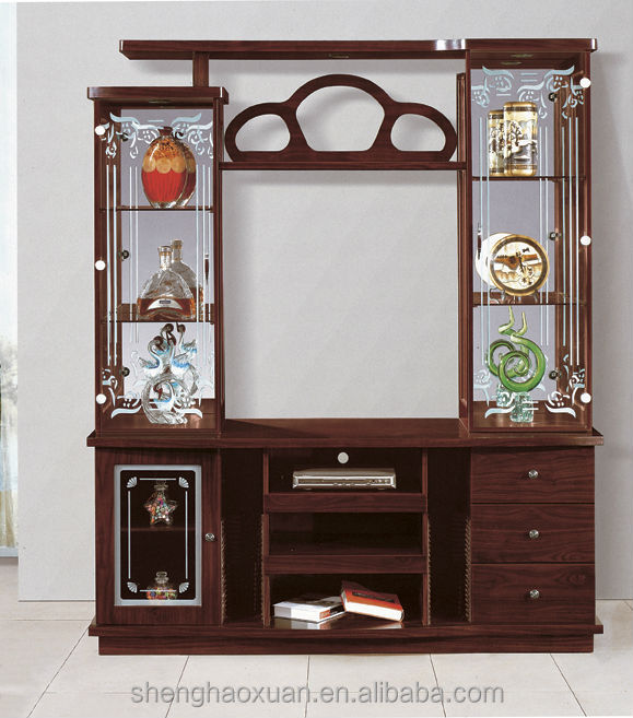 foshan factory directly sale plywood mdf tv cabinet glass. Black Bedroom Furniture Sets. Home Design Ideas