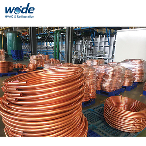 air conditioning copper corrugated tube,pancake copper coils