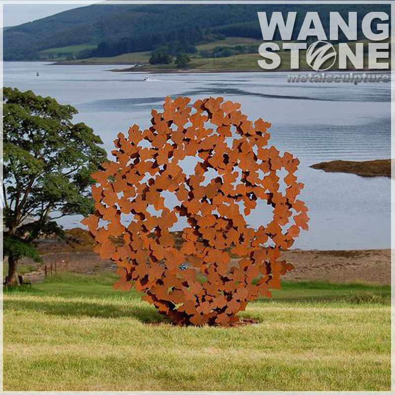 Corten Steel Outdoor Metal Garden Art Wholesale