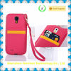 Made in China card slot TPU cell phone case for samsung galaxy note3