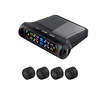 Car solar power TPMS/tire pressure with external sensor