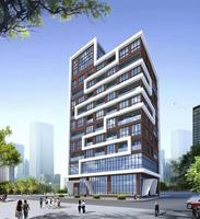 Good quality prefabricated high rise apartment steel building