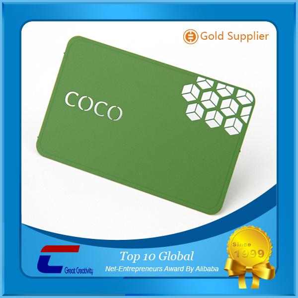 Anodized Aluminium Business Cards Anodized Aluminium Business