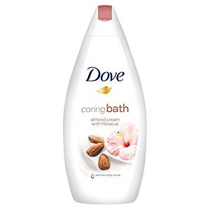 Dove Purely Pampering Almond Cream Body Wash with Hibiscus 250ml Pack of 6