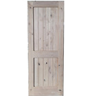 Knotty Alder Solid Wood Door