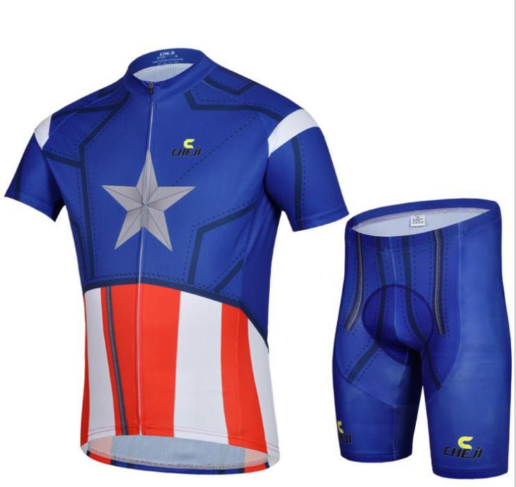 1666c8bd2 Buy MARVEL high-quality Captain America Cycling jerseys cycling clothes MTB  Road Bike Clothing in Cheap Price on m.alibaba.com