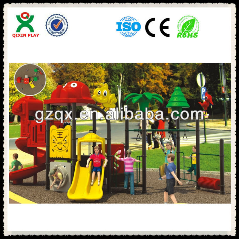 The children's happy castle park playground(QX-053A)/school playground furniture/school playgrounds design