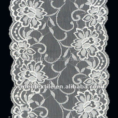 elastic cheap lace trim for bridal and underwear