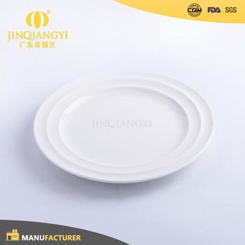 Modern style OEM wholesale bulk ceramic white dinner plate & Modern Style Oem Wholesale Bulk Ceramic White Dinner Plate - Buy ...