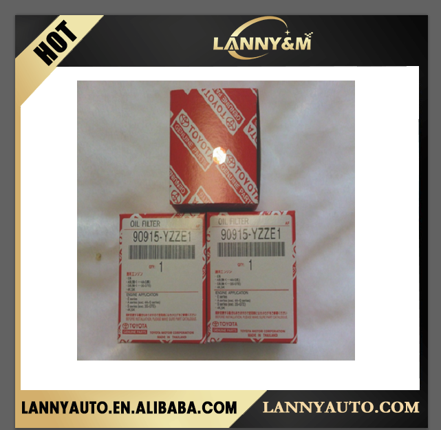 Best price auto oil filter used toyota camry 90915-10001