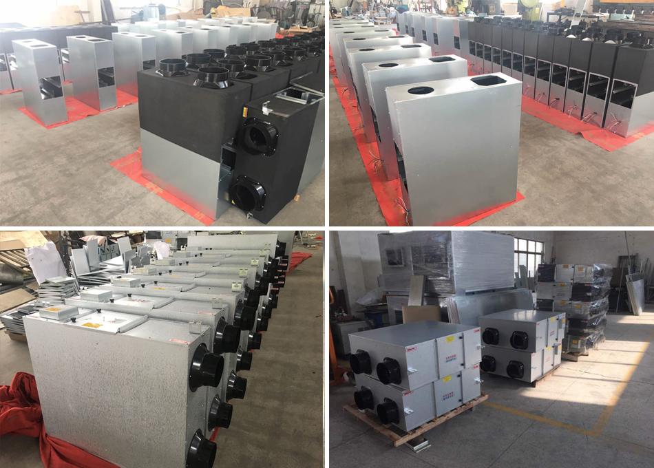 Yangzijiang Low noise fabriek prijs verse lucht warmteterugwinning unit totale warmtewisselaar