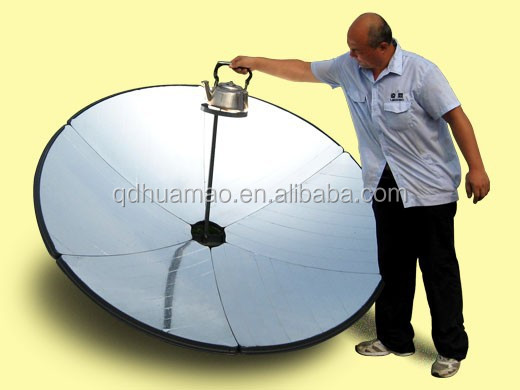 solar cooking dish