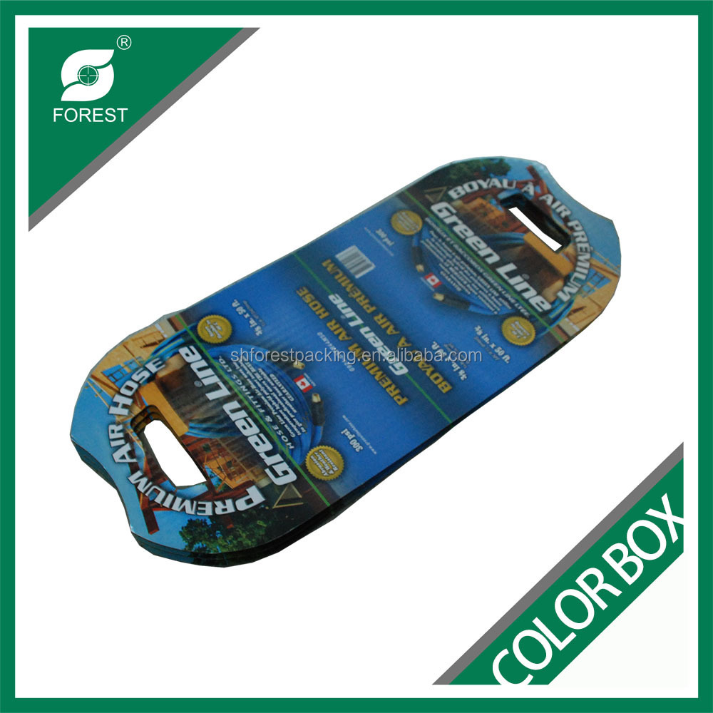 CUSTOM PRINTED CUP CARRIER CORRUGATED COLORFUL PACKING CUP CARRIER WITH HANDLE