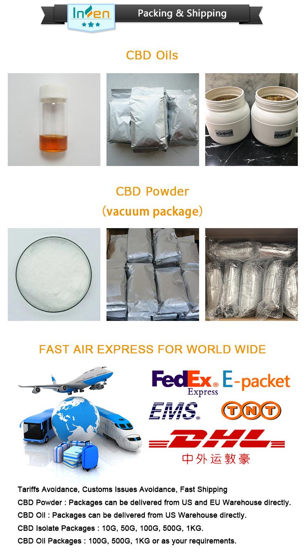 Large Stock Highest Purity CBD Isolate 99 Powder
