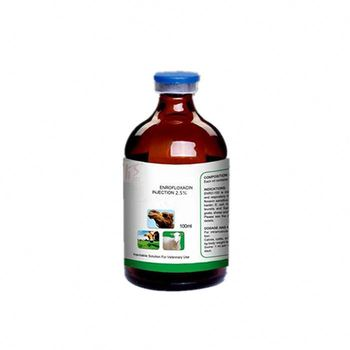 Enrofloxacin Soluble 20% Oral Solution For Poultry Use Injection