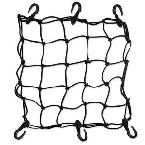 Motorcycle custom durable rubber mesh cargo elastic netting