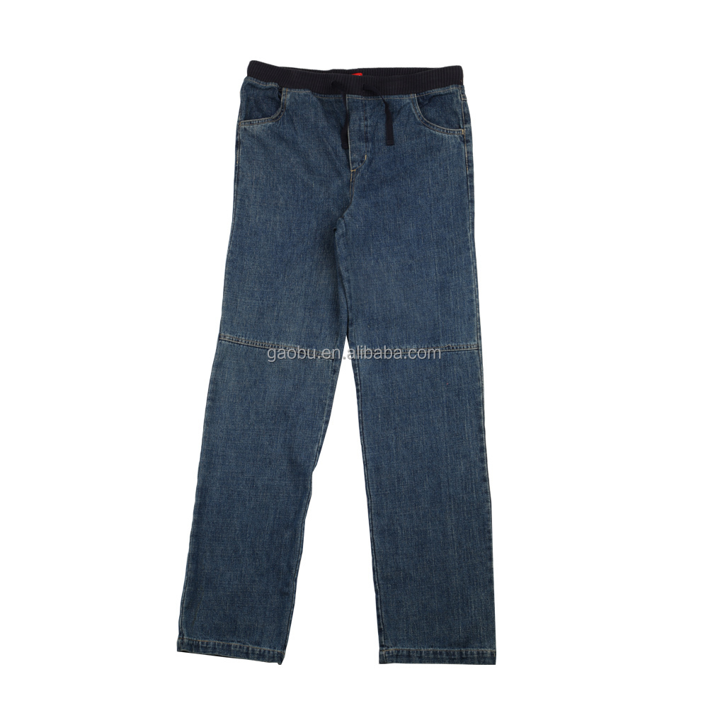Kids Clothes Factory 100% Cotton Denim Jeans Boys Pants