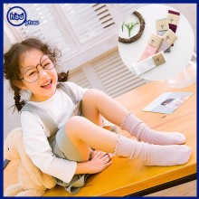 Yhao Legging Wholesale Custom Knee High Socks Young Girl Tube Socks Long Socks