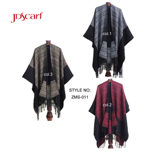 Luxury Kashmir Autumn and winter women wide cotton wool convertible bulk wholesale shawl wraps ladies