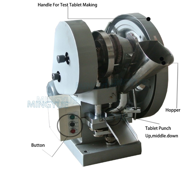 Good Quality Hand Single Punch Candy Tablet Press Machine