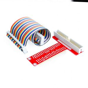 40Pin GPIO cable + GPIO T-adapter plate Raspberry Pi 3&Raspberry Pi 2 Model B T expansion DIY kit