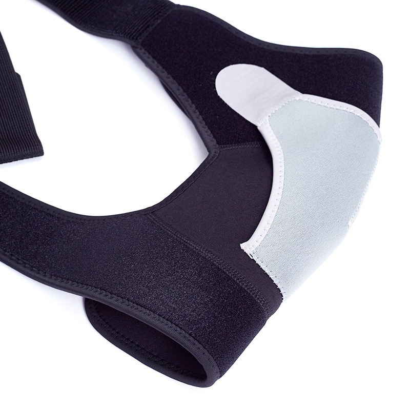 Customized compression elastic shoulder belt