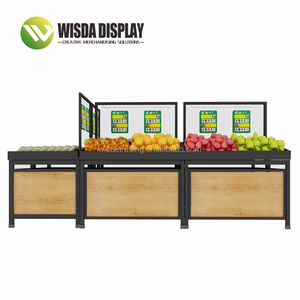 Supermarket fruit and vegetable rack Online Shopping Plant Stand Shopping display