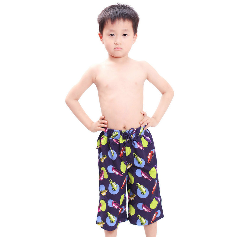 287a8c5f13 3-12Years Fashion Cartoon Print Kids Swim Shorts Beach Wear Children Boys  Swimming Trunks Designer Swimwear Hot Sale Wholesale