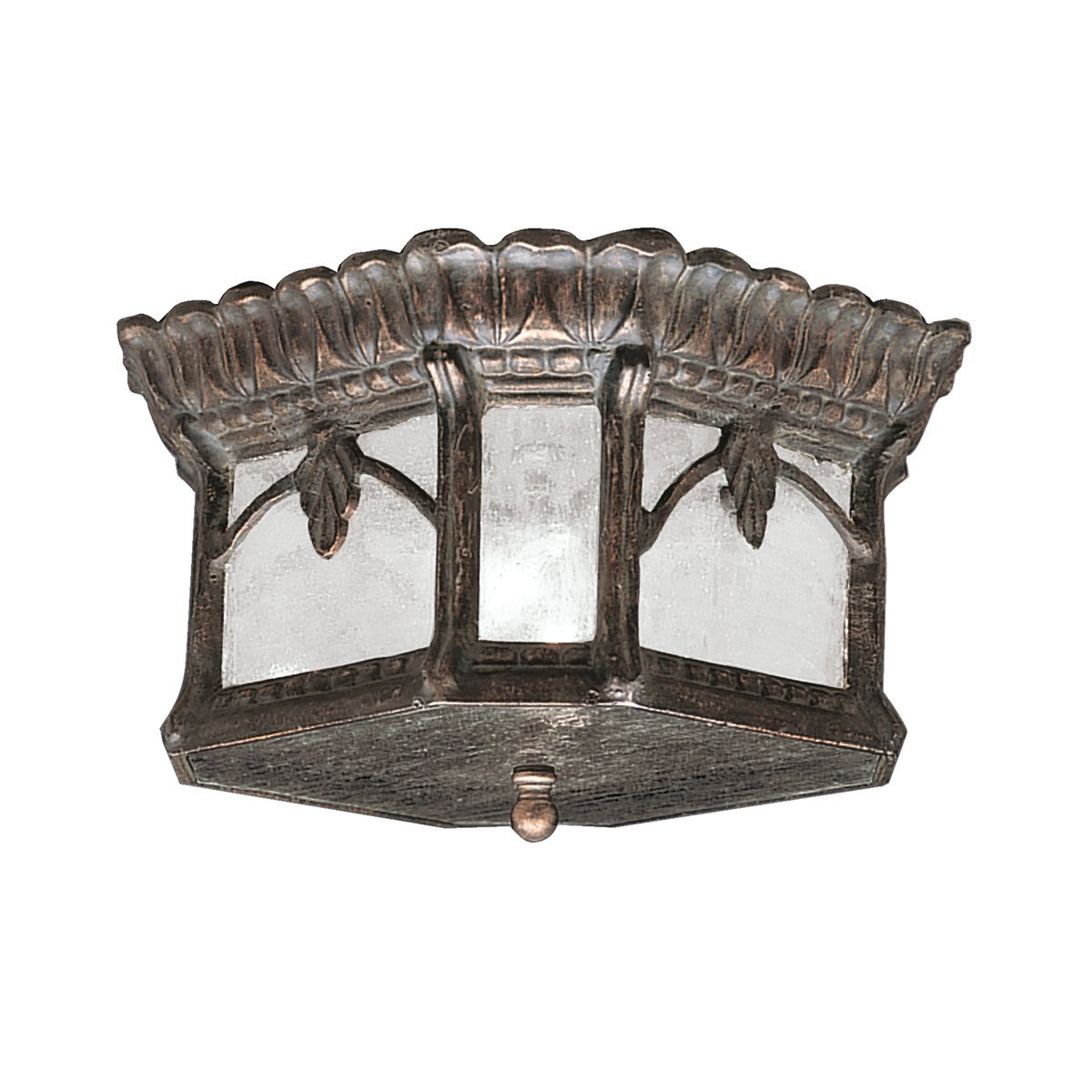 Kichler 9854LD Two Light Outdoor Ceiling Mount