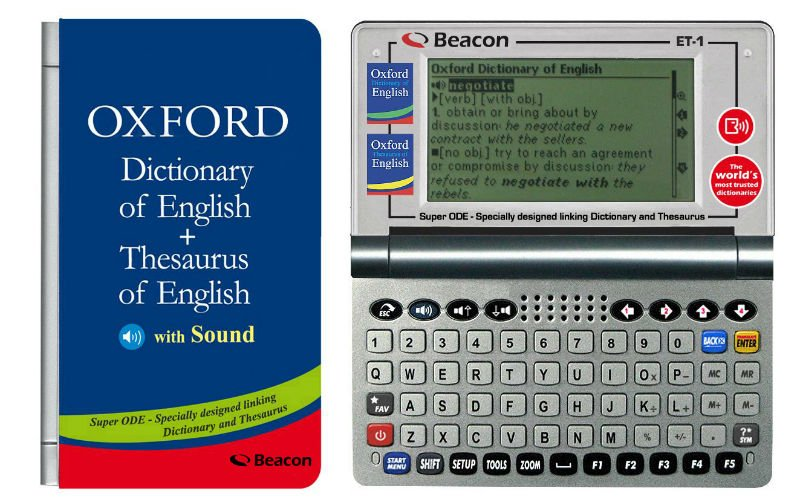 Speaking Electronic Oxford Dictionary Of English Thesaurus Of