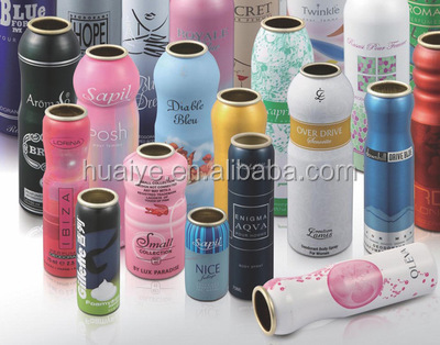 OEM/empty aerosol aluminum cans/cosmetic use/ spray cans