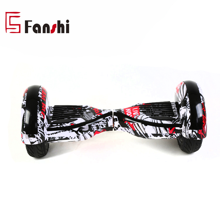 10 Inch Two Wheel Self Balancing Electric Scooter Hover board With Light and phone connection speaker, Optional or customized