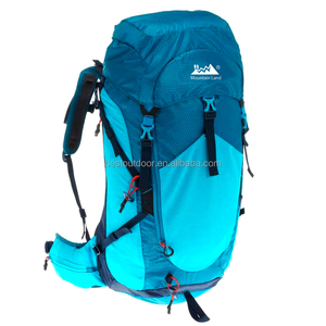 40 LITRE AIR hiking backpack WOMEN'S BACKPACK - GREY/BLUE